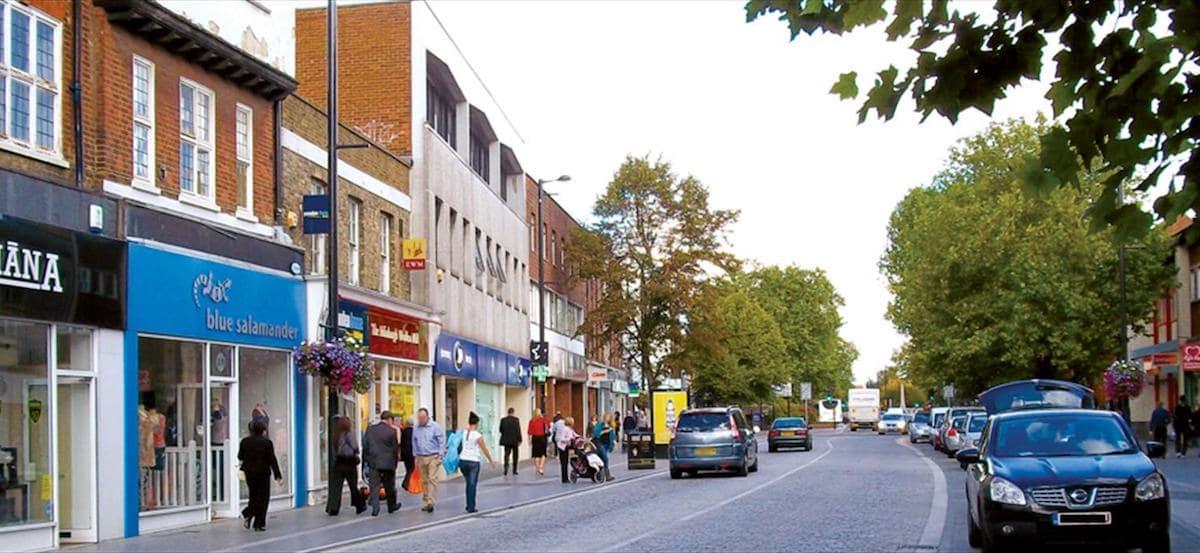 Brentwood High Street shops