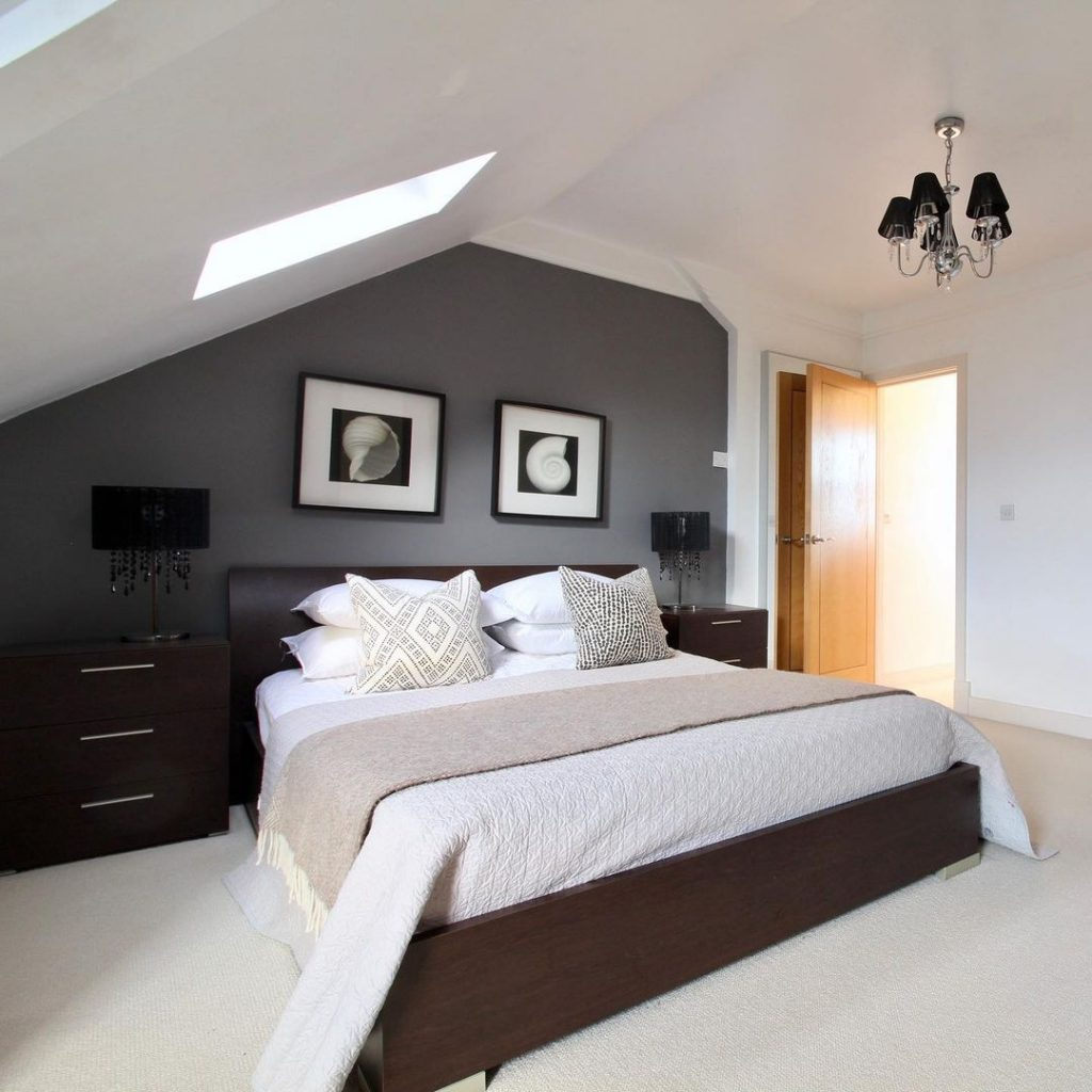 Converted loft bedroom for customer in Essex