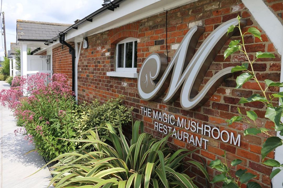 The Magic Mushroom Restaurant in Basildon, one of the best places to grab a bite to eat in Essex