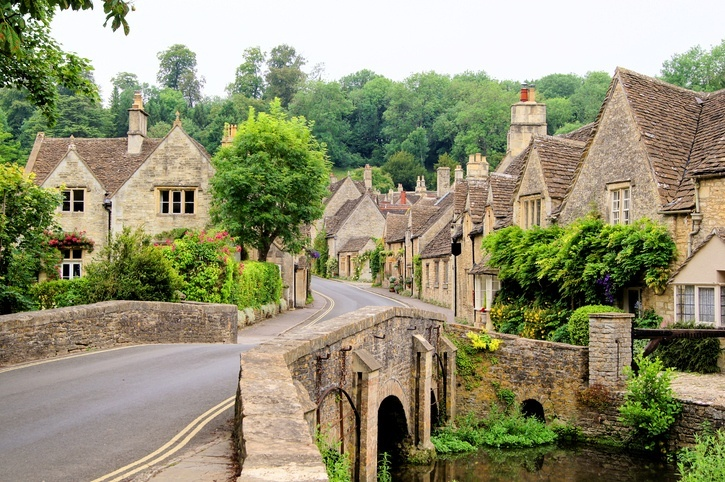 What a residential conservation area in England may look like