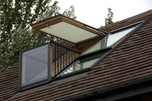 Velux loft conversion in Romford