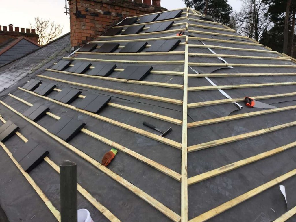 remoford roofing process
